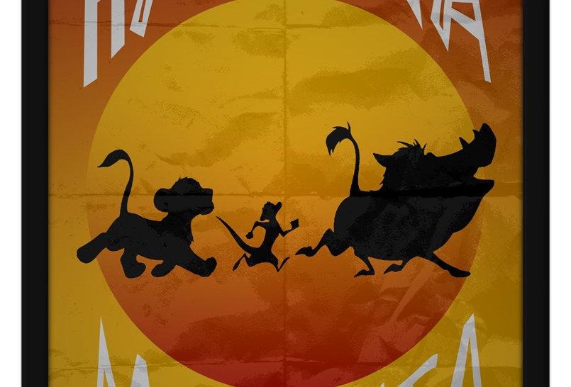 Pôster - Rei Leão: Hakuna Matata