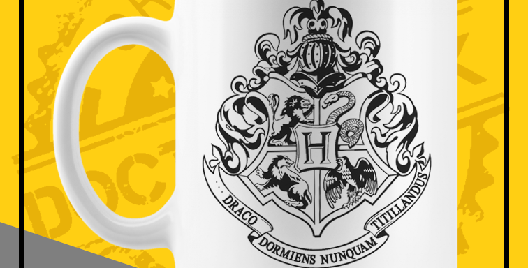 Caneca - Harry Potter: Hogwarts