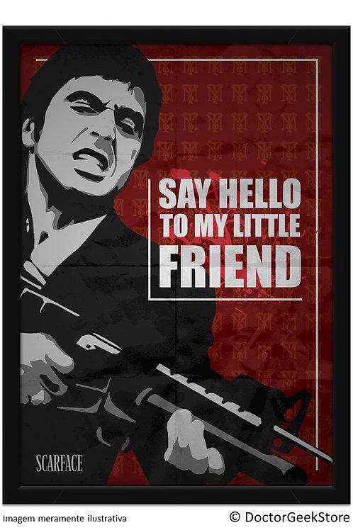 Pôster - Scarface: Little Friend