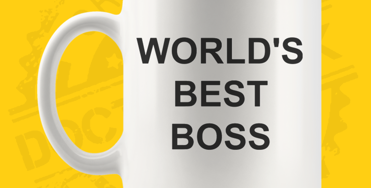Caneca - The Office: World's Best Boss