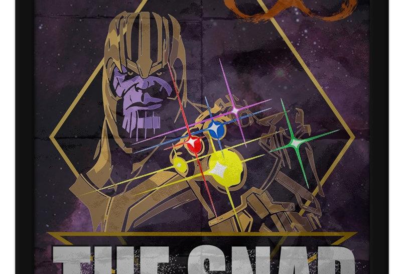 Pôster - Thanos: Eu sobrevivi