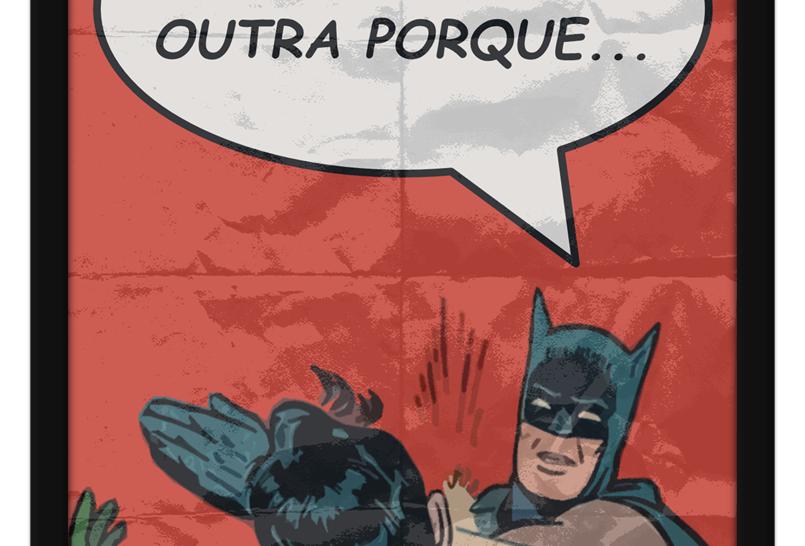 Pôster - Batman: Tapa na Cara