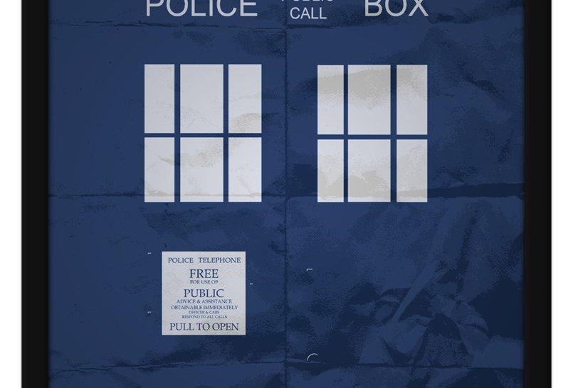 Pôster - Doctor Who: Tardis