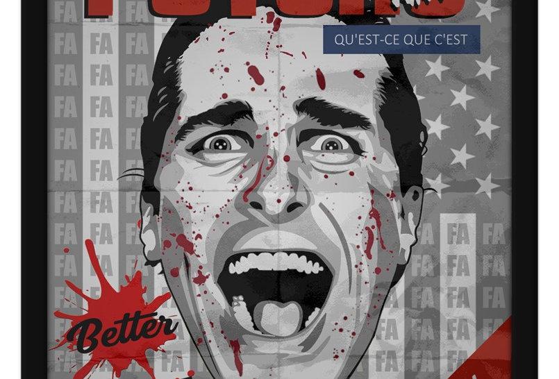 Pôster - Psicopata Americano