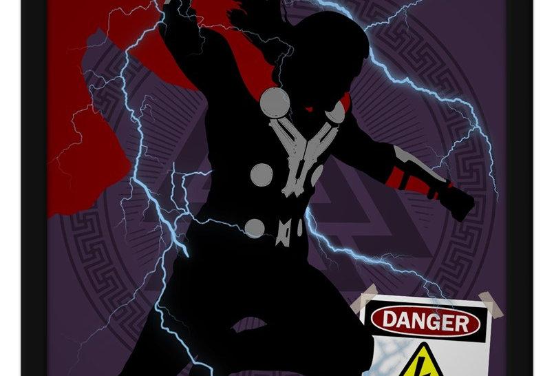 Pôster - Thor: High Voltage