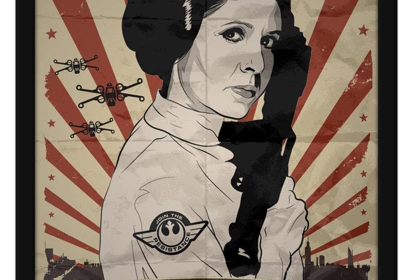Pôster - Star Wars: Leia