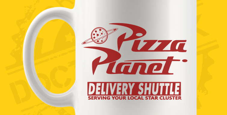 Caneca - Toy Story: Pizza Planet