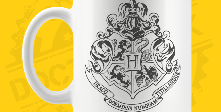 Caneca - Harry Potter: Hogwarts