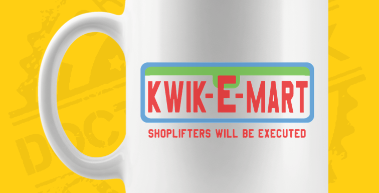 Caneca - Simpsons: Kwik-E-Mart