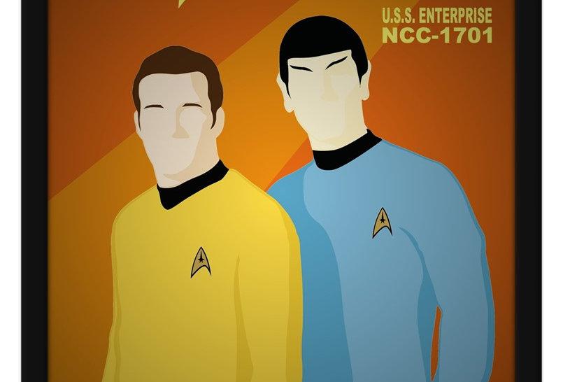 Pôster - Star Trek