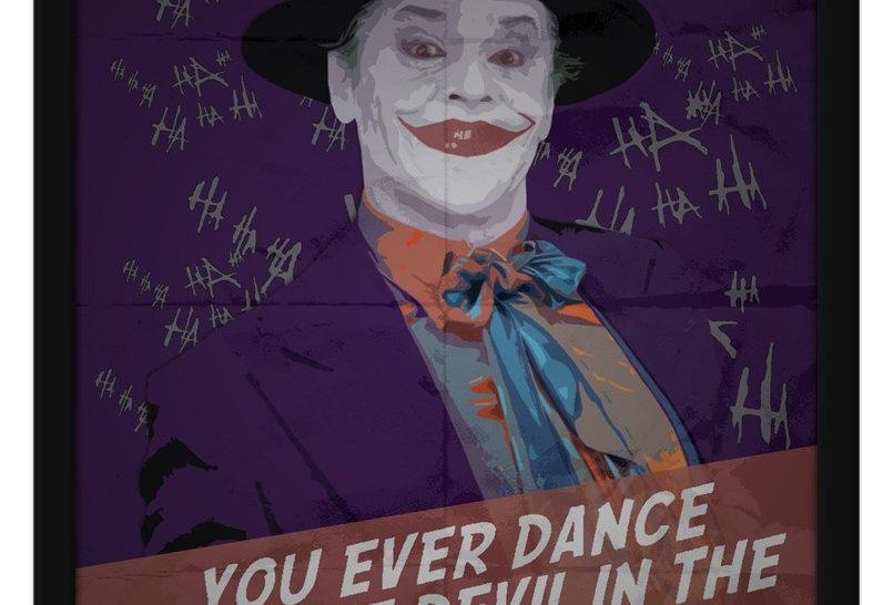 Pôster - Joker: J. Nicholson - Dance with Devil