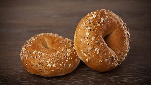 Whole Wheat Multigrain Bagel - Per Dozen
