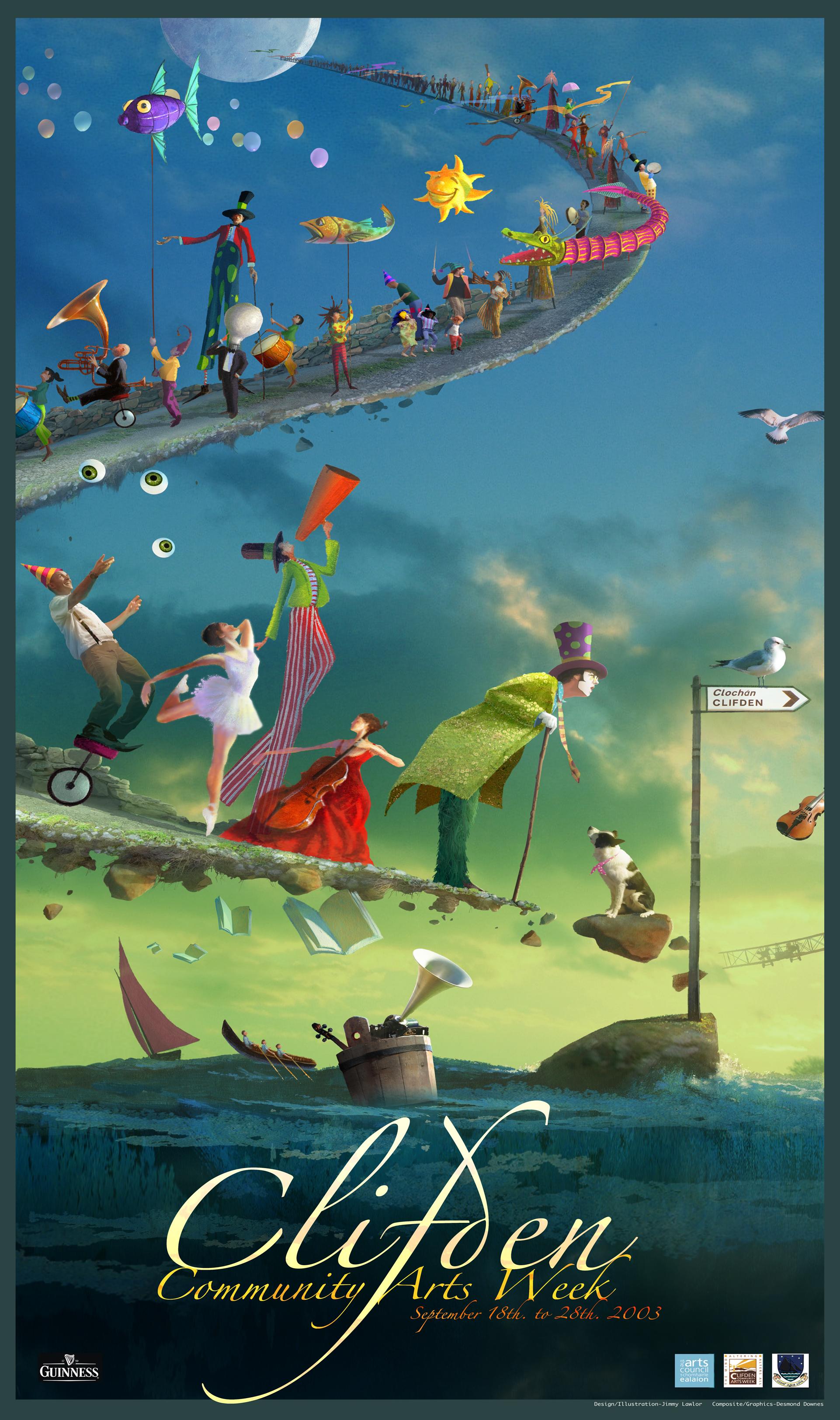 Arts Week Poster