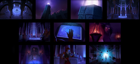 Sinbad Colour Board