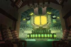 Anticoria Draining Chamber