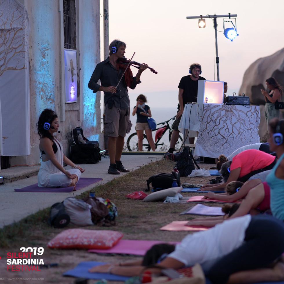 Silent Sound Yoga a Capo Testa - 2019