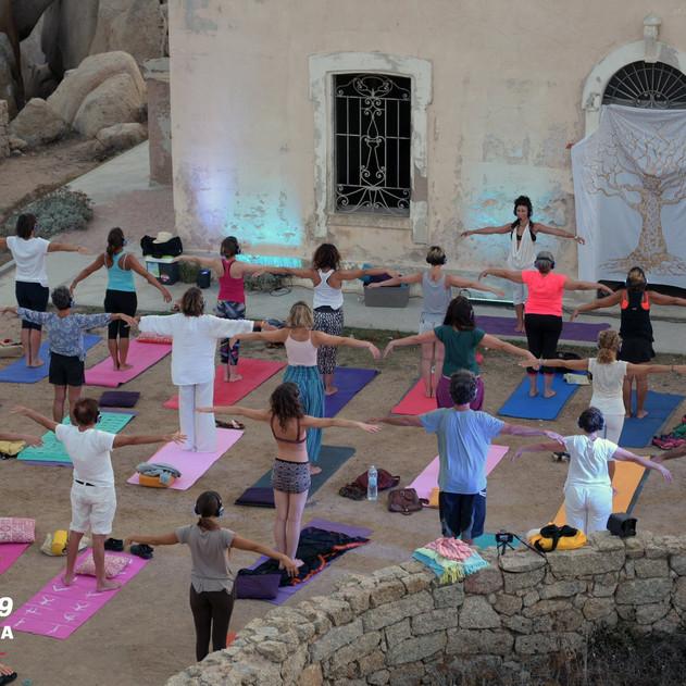 Silent Sound Yoga @ Faro di Capo Testa 2019