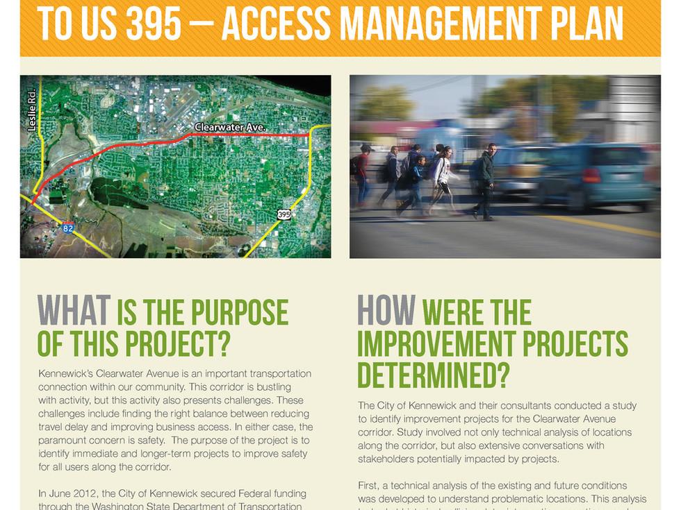 Clearwater Avenue Corridor Improvements Study