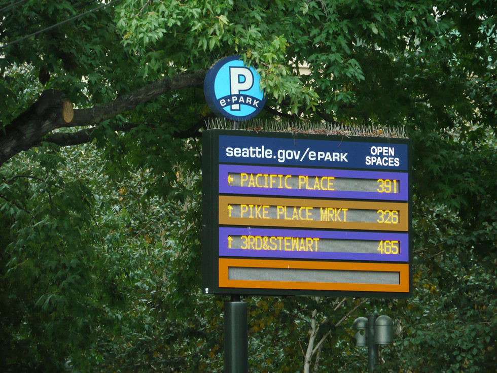 Seattle Electronic Parking Guidance System