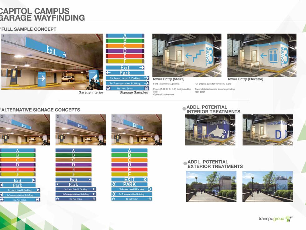 Capitol Campus Parking Strategies
