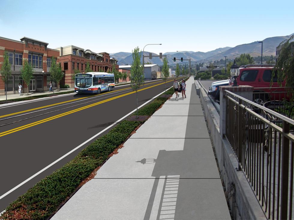 SR-285 N Wenatchee Ave Transportation Master Plan