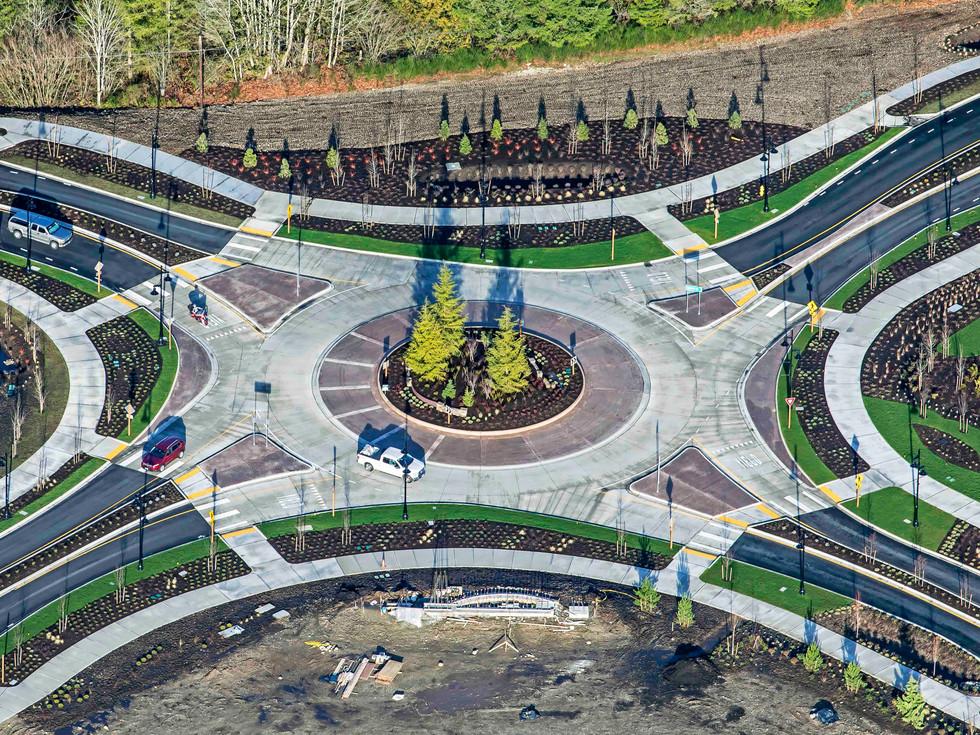 Ten Trails Roundabout Design
