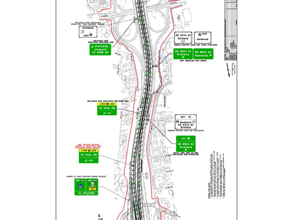 I-405 Toll Lanes