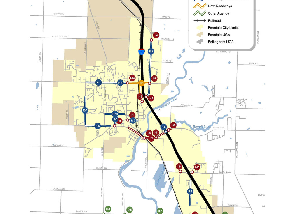 City of Ferndale, WA Pedestrian and Bicycle Systems Plan