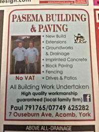 Pasema Building & Paving