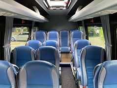 Inside view of All Travel York Mini Bus