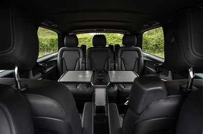 luxury private hire chauffeur driven car