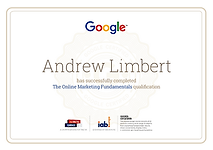 Google Digital Garage Certified