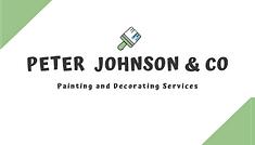 Peter Johnson Business Card