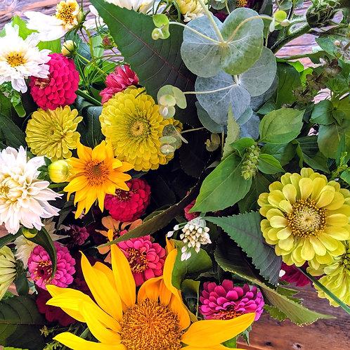 Summer Flower Bouquets: 4 Weeks