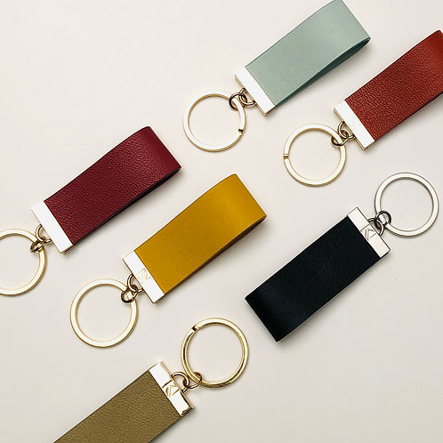 L'Ingénieux - A leather keychain