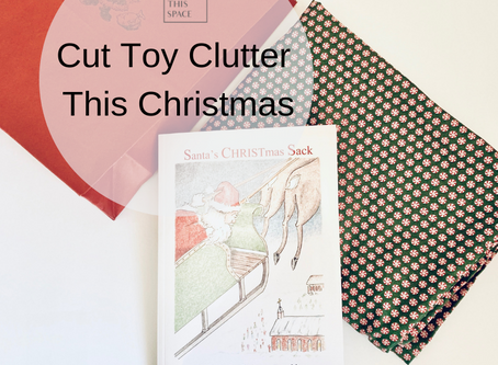 Cut Toy Clutter this Christmas