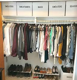 Small Closet transformation - after - Gr