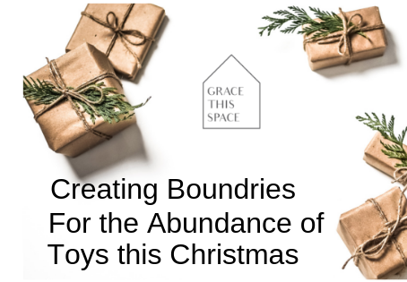 Boundaries for the Abundance of Toys this Christmas
