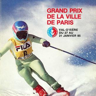 1985 Plaquette Grand Prix Ville de Paris