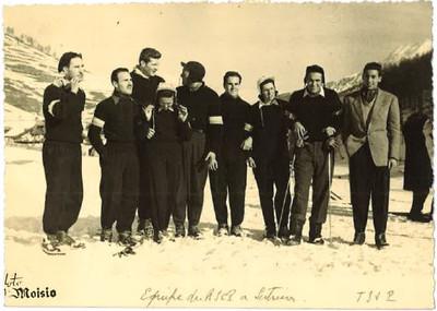1950s équipe RCF à Sestriere