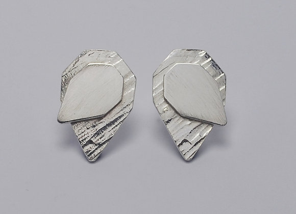 Septangle earrings