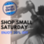 Small Business Saturday 2019 Email Flyer