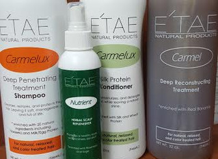 E'tae Natural Hair Products Blowout!