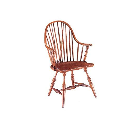 46 Brace Back Continuous Arm Chair