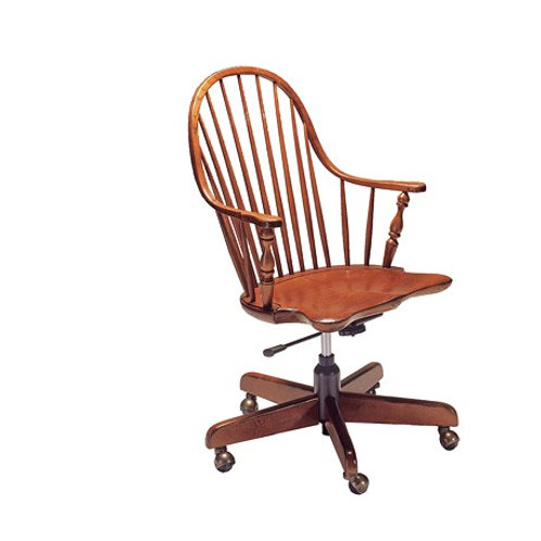 36S New England Continuous Arm exec/tilt/swivel chair