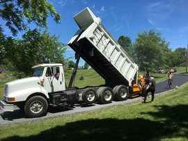 Paving a new driveway