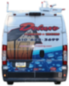 Read End of Deluxe Plumbing and Heating Truck_ If you see it let us know.png