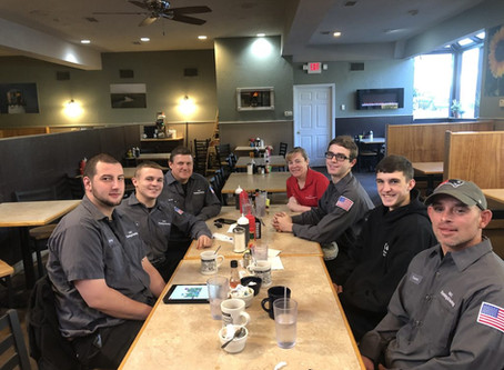 Breakfast with G & C Plumbing and Heating