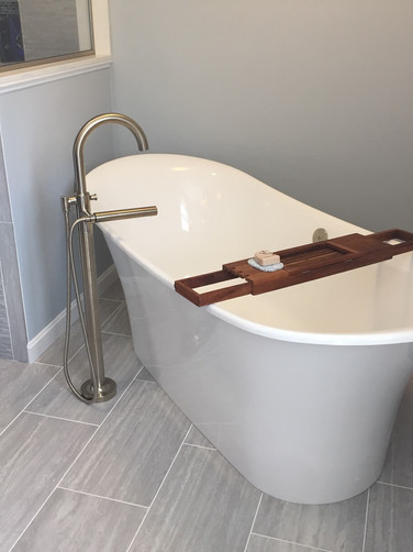 Relaxing Tub Installation