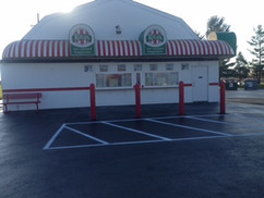 Parking lot for Rita's Italian Ice after